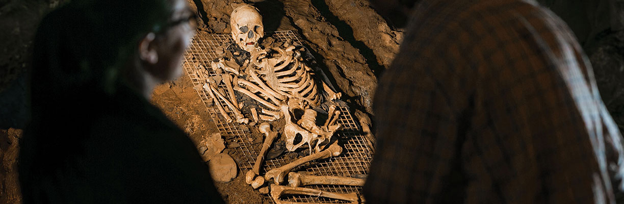 Cheddar Man, Britain's oldest and most complete skeleton
