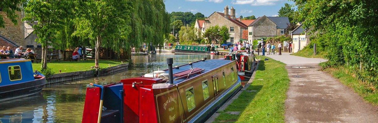 Kennet and Avon Canal at Bradford on Avon