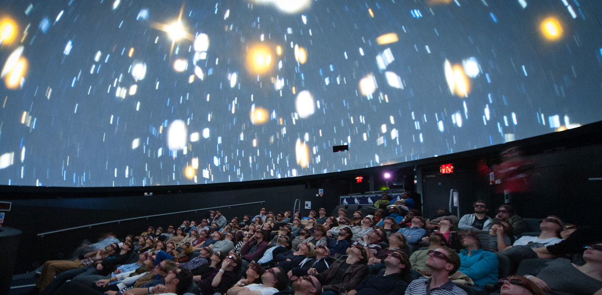 The planetarium at We the Curious