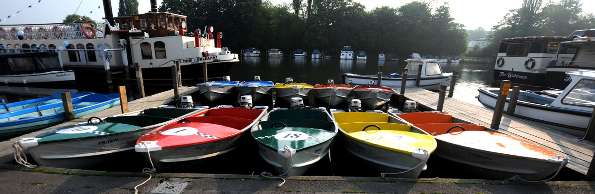 Day Hire Boats From Hobbs of Henley