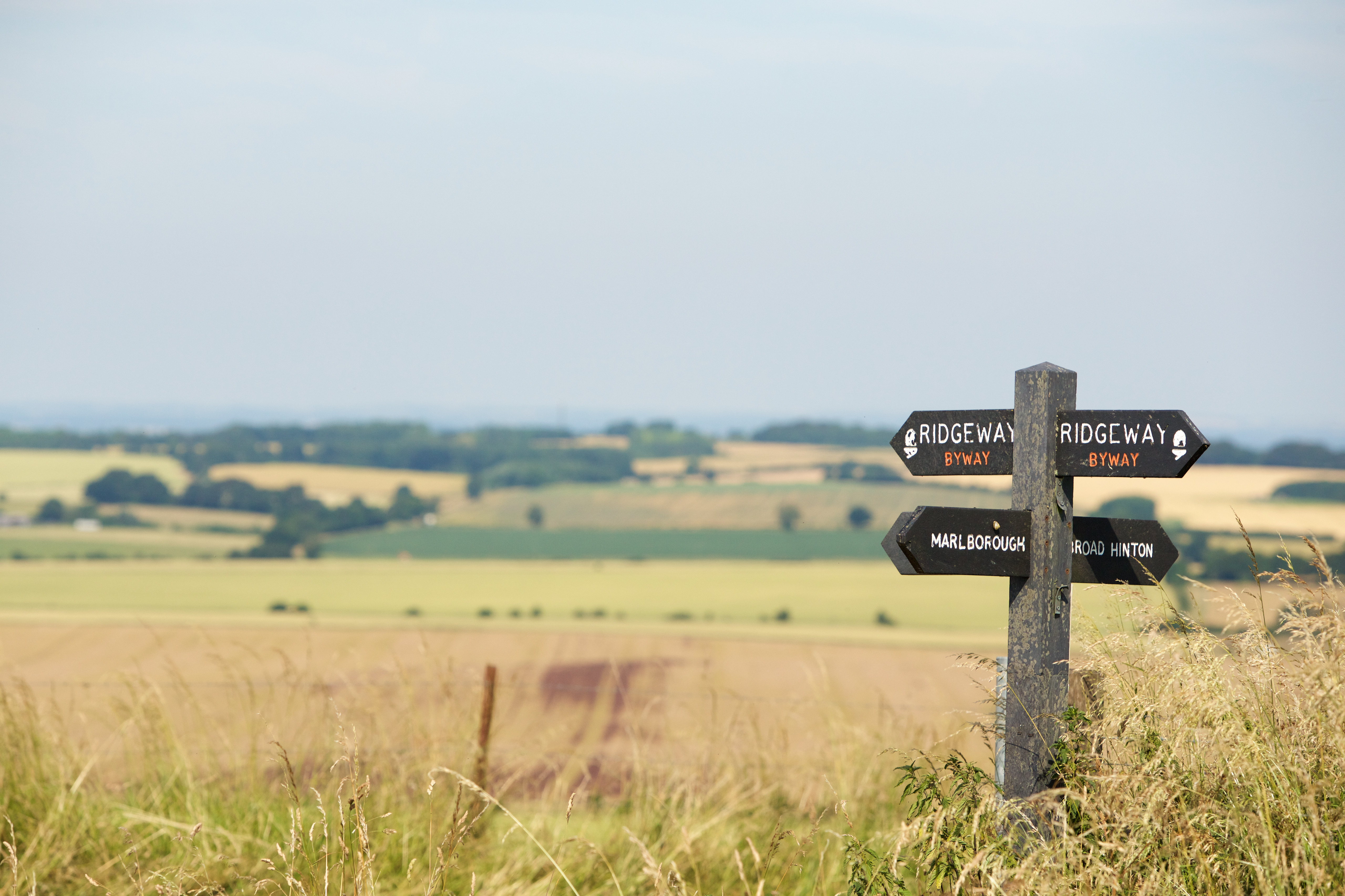 A Guide to Walking in the North Wessex Downs