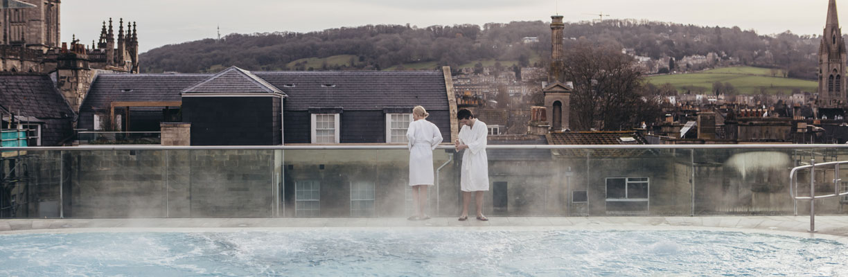 Thermae Bath Spa in Winter