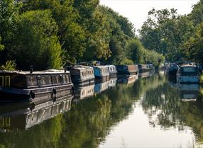 The Kennet & Avon Canal on the Great West Way