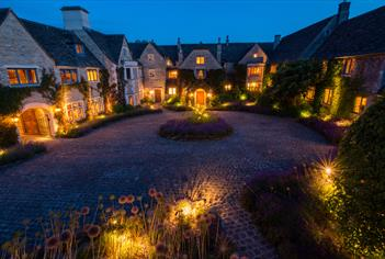 Whatley Manor at Night