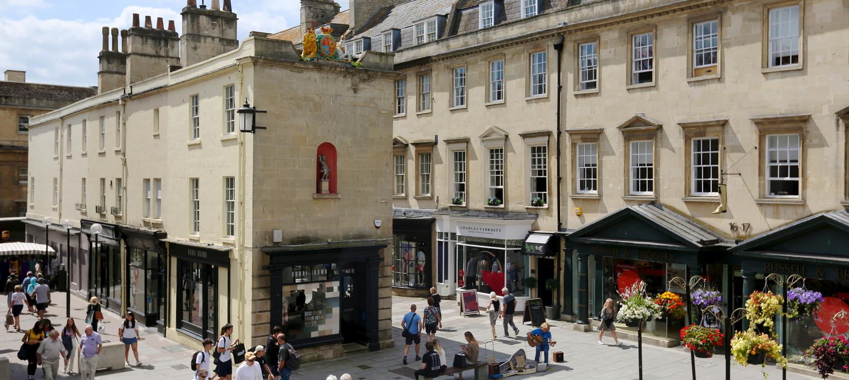 Shop in style in Bath