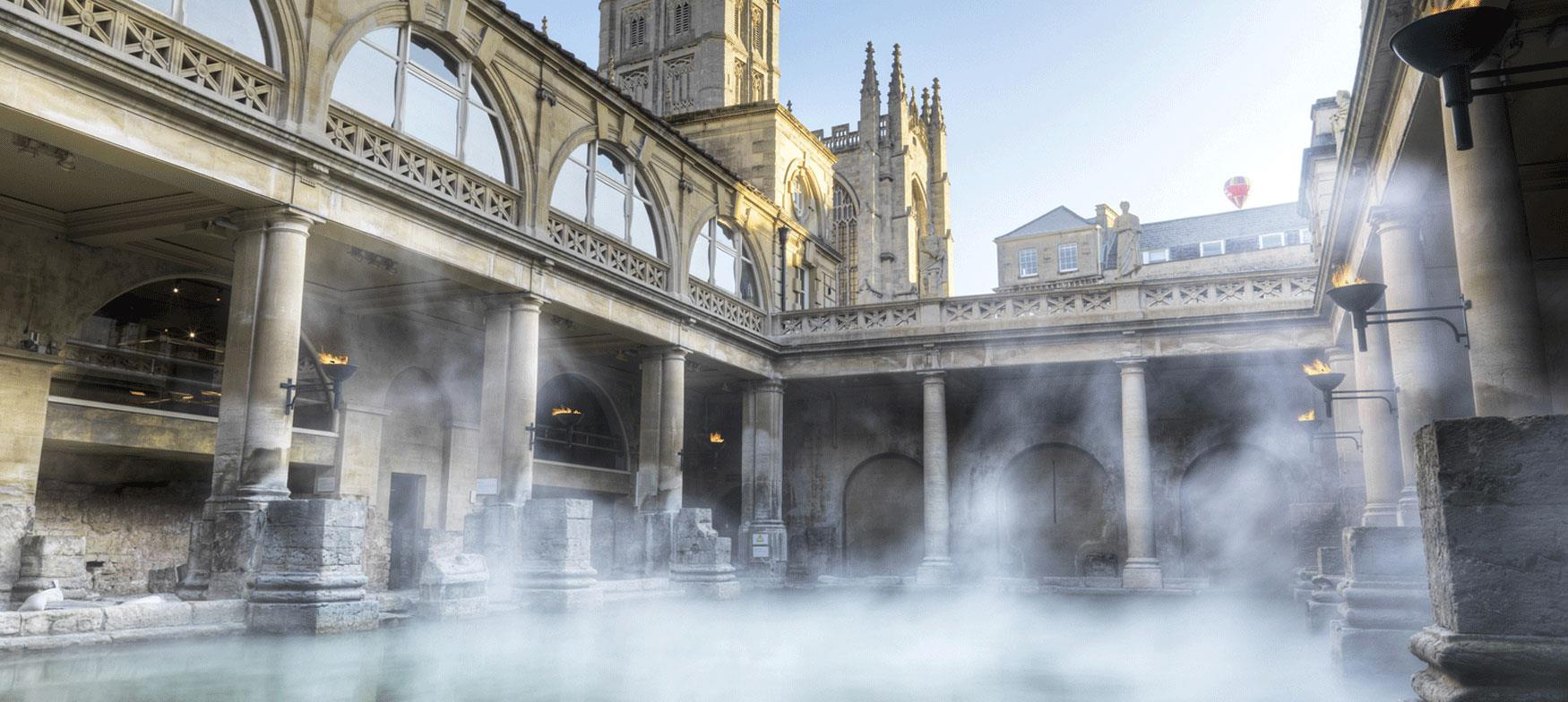 Immerse yourself in the Roman Baths