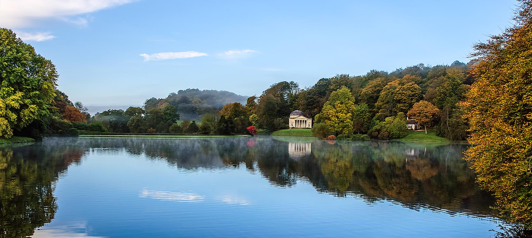Take in art, history and gardens at Stourhead