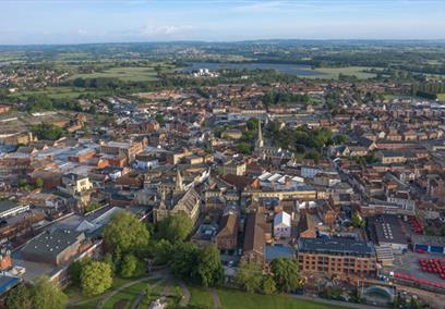 Trowbridge Aerial View