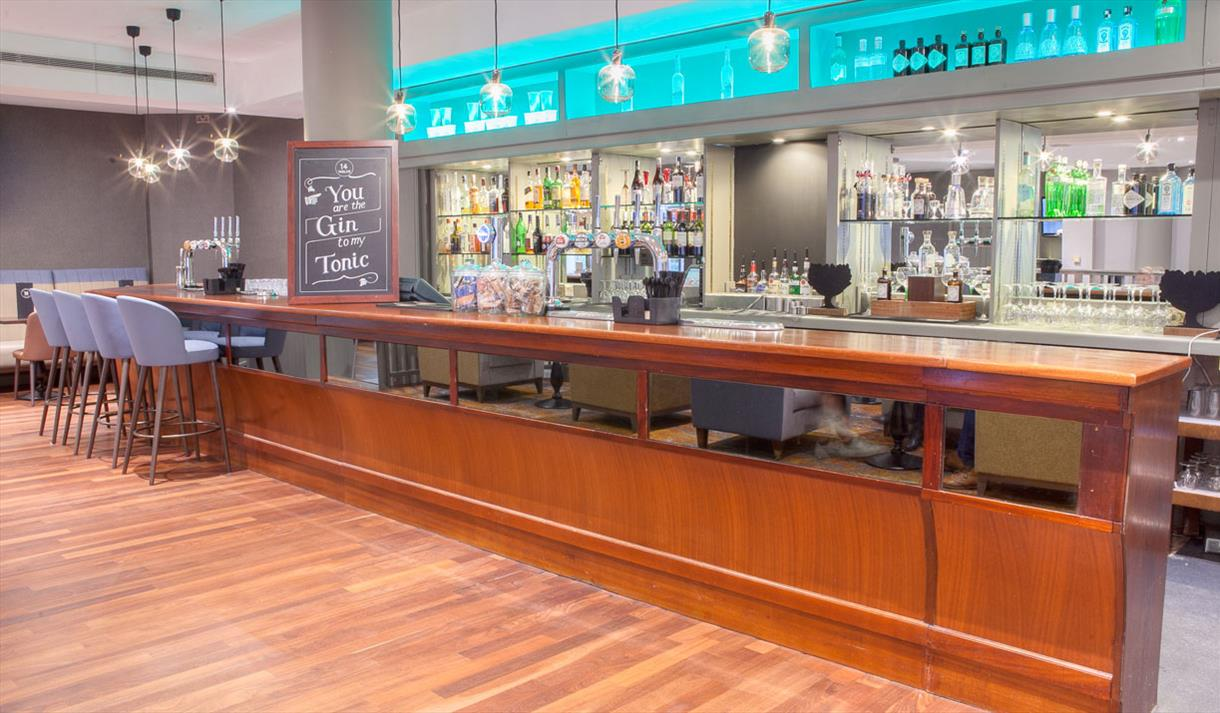 Bar at Doubletree by Hilton Swindon
