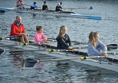 Family rowing