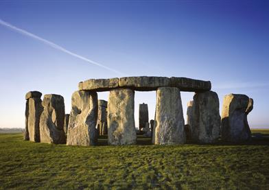 Stonehenge on Salisbury Plain in Wiltshire
