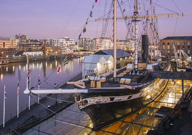 SS Great Britain at Dusk