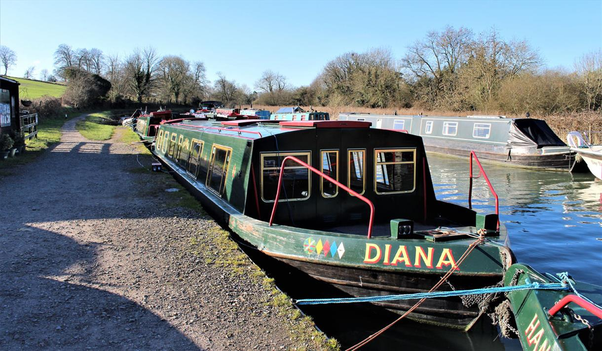 Bruce Accessible Boats at Great Bedwyn